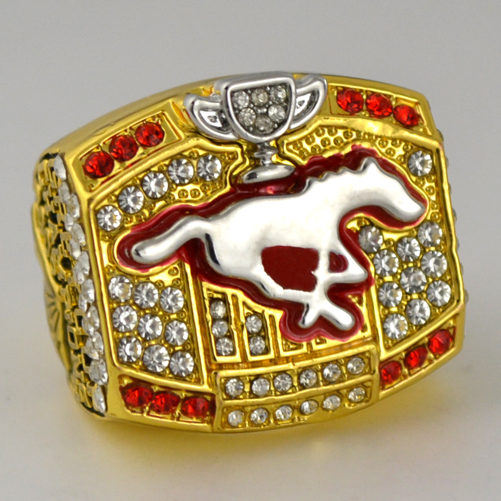 2008 Calgary Stampeders The 96th Grey Cup Championship Ring