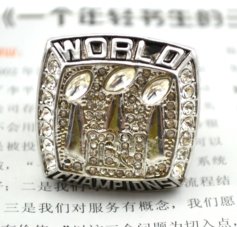 2007 Super Bowl XLII New York giants Championship Ring